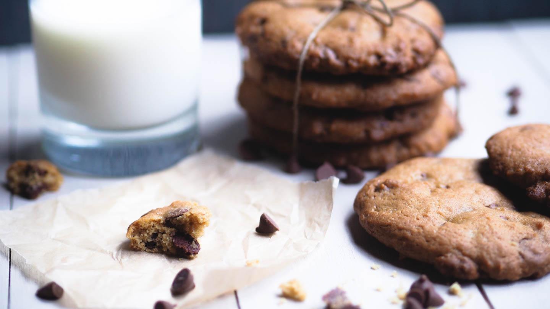 cookies oppskrift med sjokoladebiter