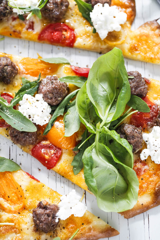 lage italiensk pizza