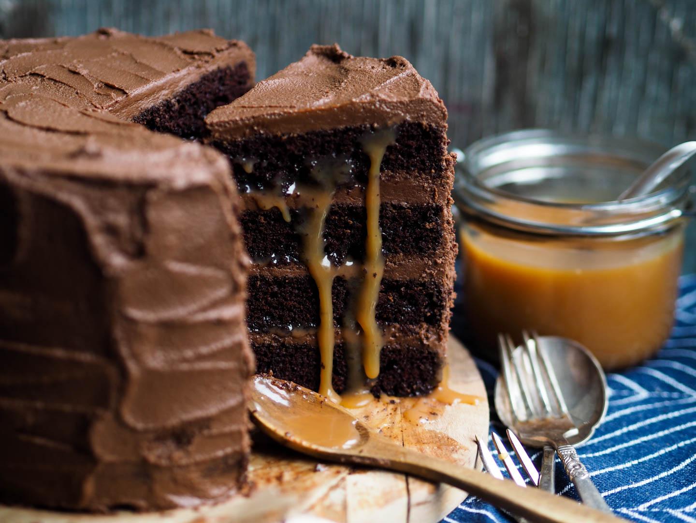 lett oppskrift på kake